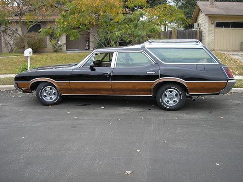 1970 Oldsmobile Vista Cruiser #17