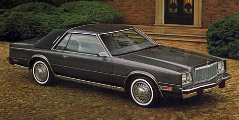 1982 Chrysler Cordoba #1
