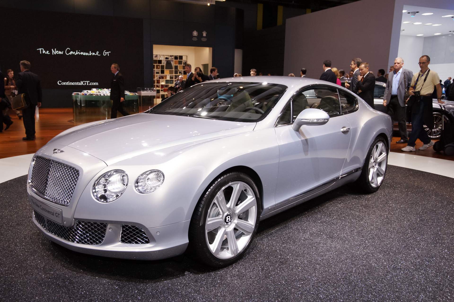 2010 Bentley Continental Gt #13