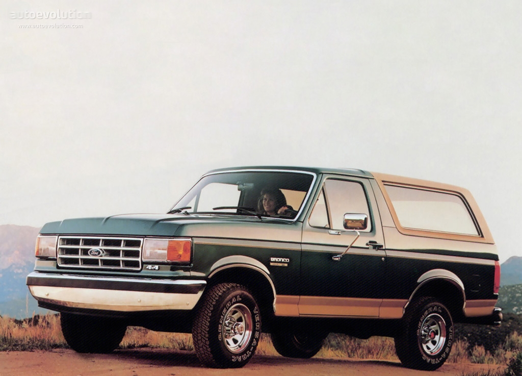 1991 Ford Bronco #10
