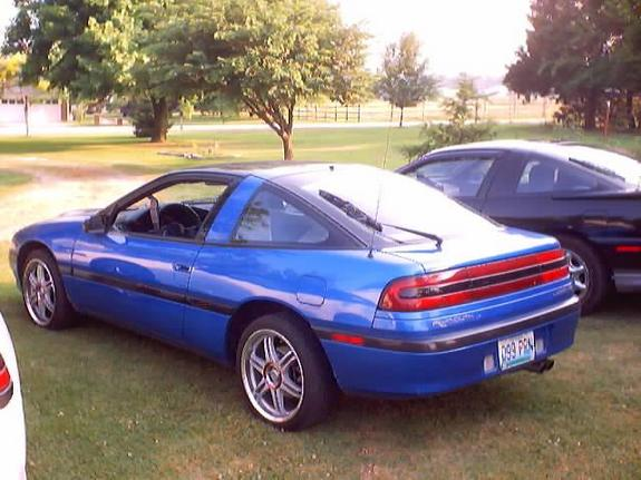 1991 Plymouth Laser #6