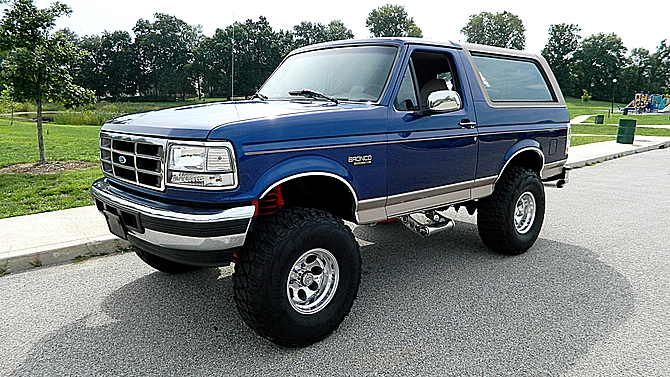 1996 Ford Bronco #11