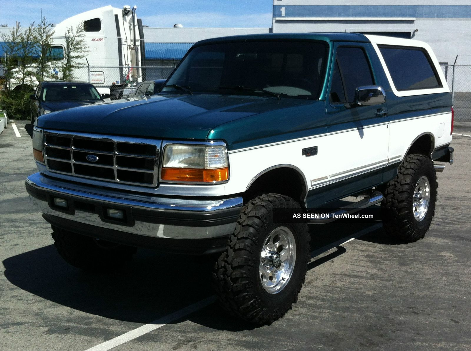 1996 Ford Bronco #16