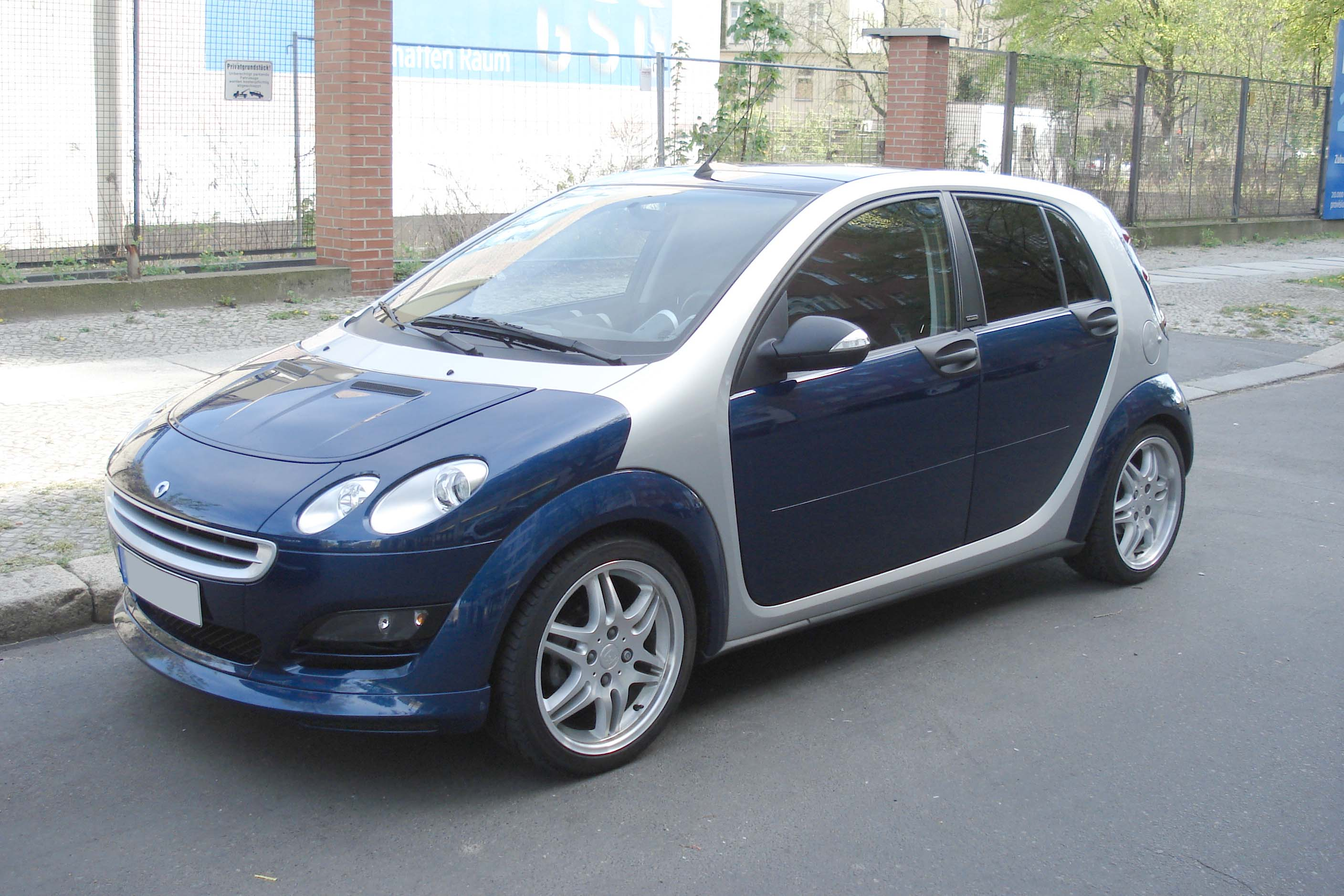 2002 Smart ForFour #9