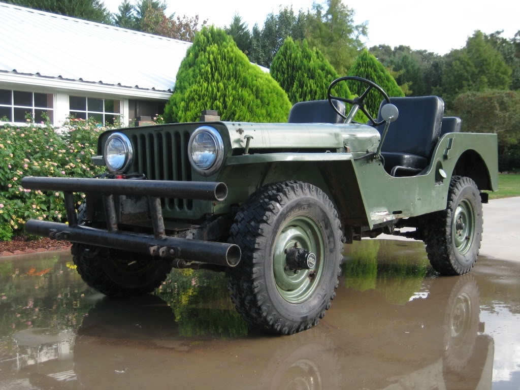 1948 Jeep CJ2A Photos, Informations, Articles - BestCarMag.com
