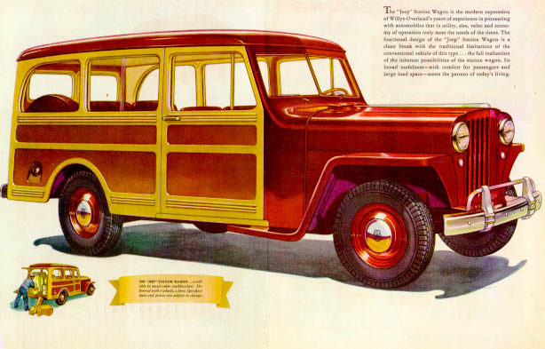 1946 Jeep Station Wagon #2