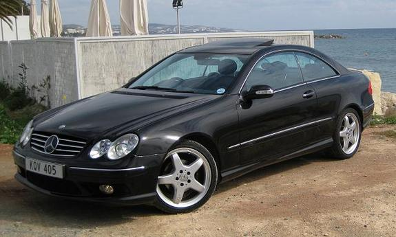 2003 Mercedes-Benz CLK #5