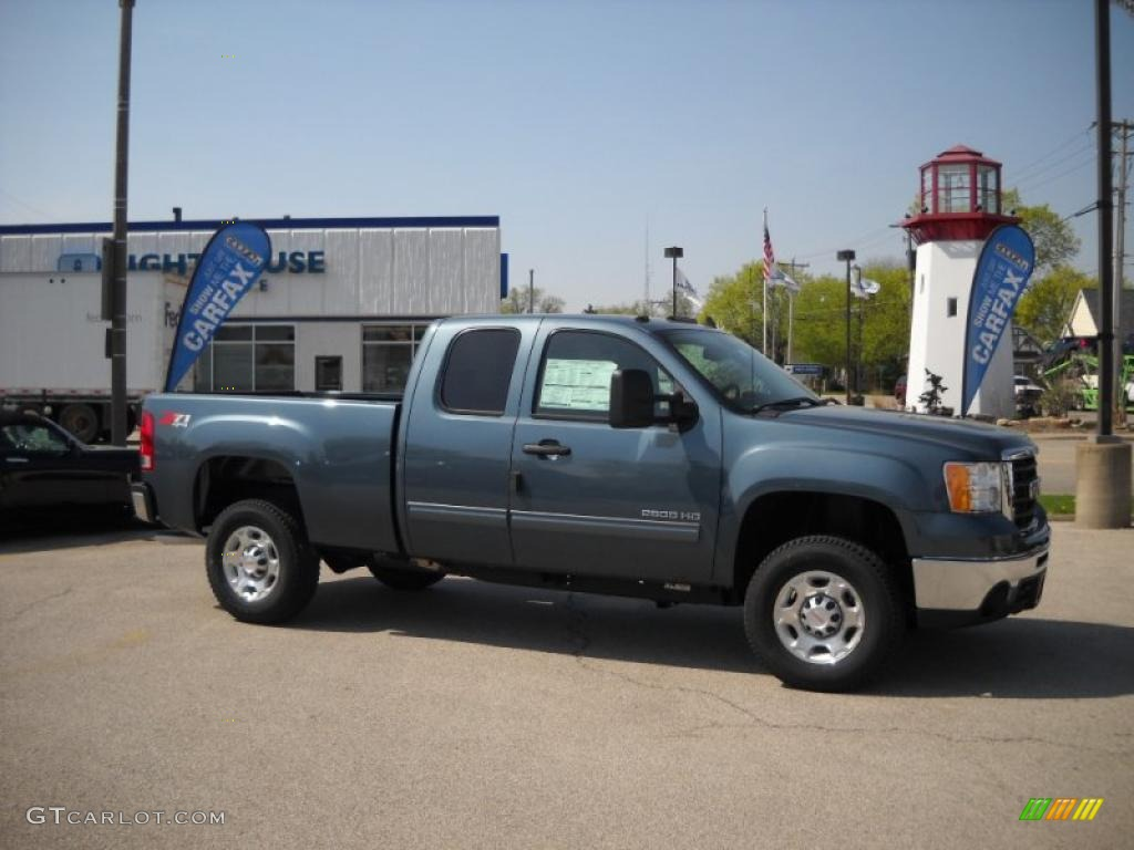 2010 GMC Sierra 2500hd #10