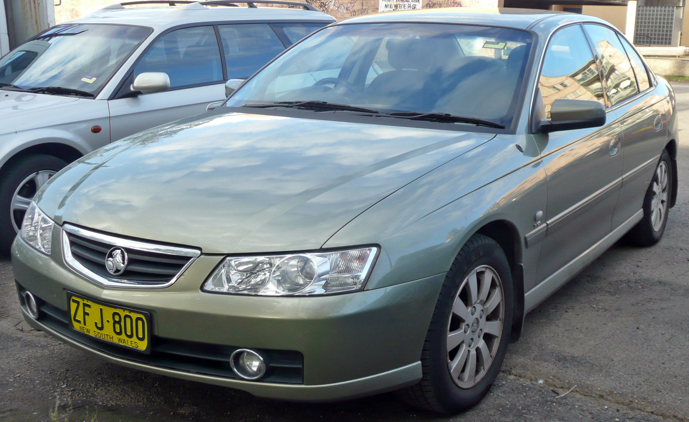 2002 Holden Berlina #9