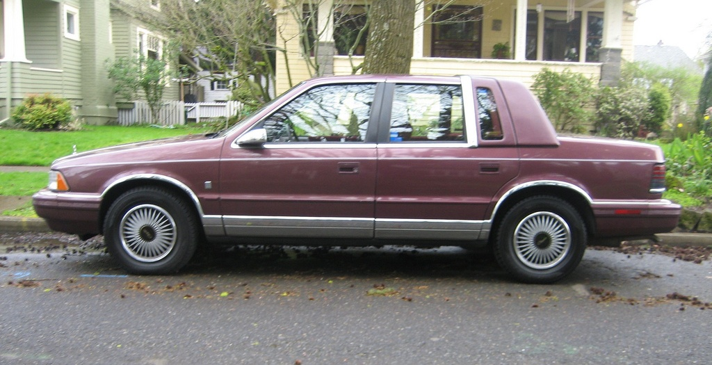 1990 Chrysler Le Baron #9