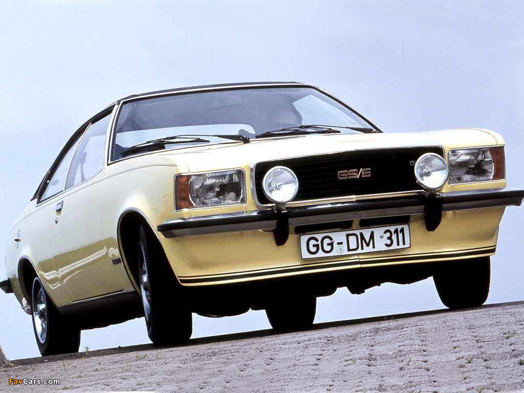 1972 Opel Commodore #4