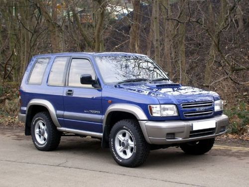 1999 Isuzu Trooper #7