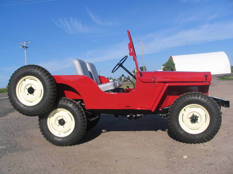 1948 Jeep CJ2A Photos Informations Articles BestCarMagcom