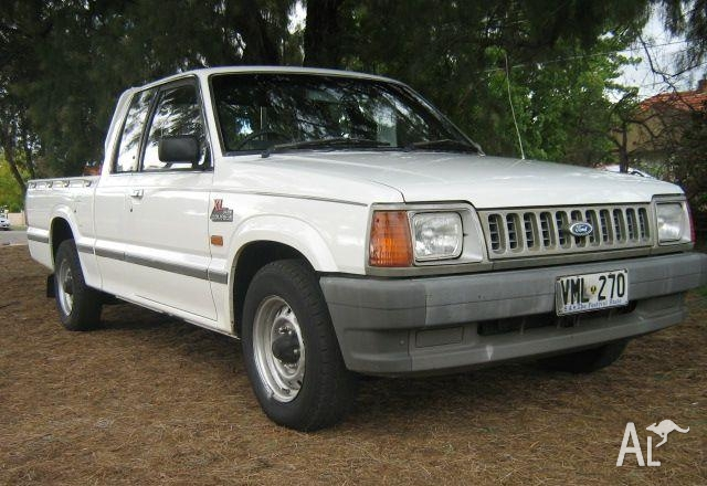 1993 Ford Courier #4