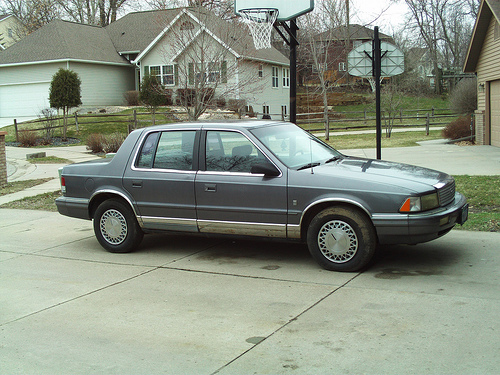 1990 Plymouth Acclaim #8