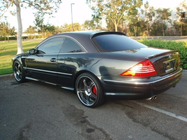 2003 Mercedes Benz CL #6