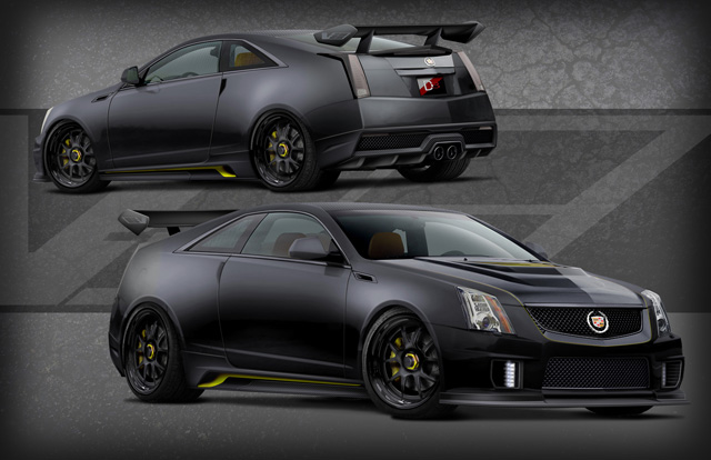 2015 Cadillac Cts-v Coupe #11