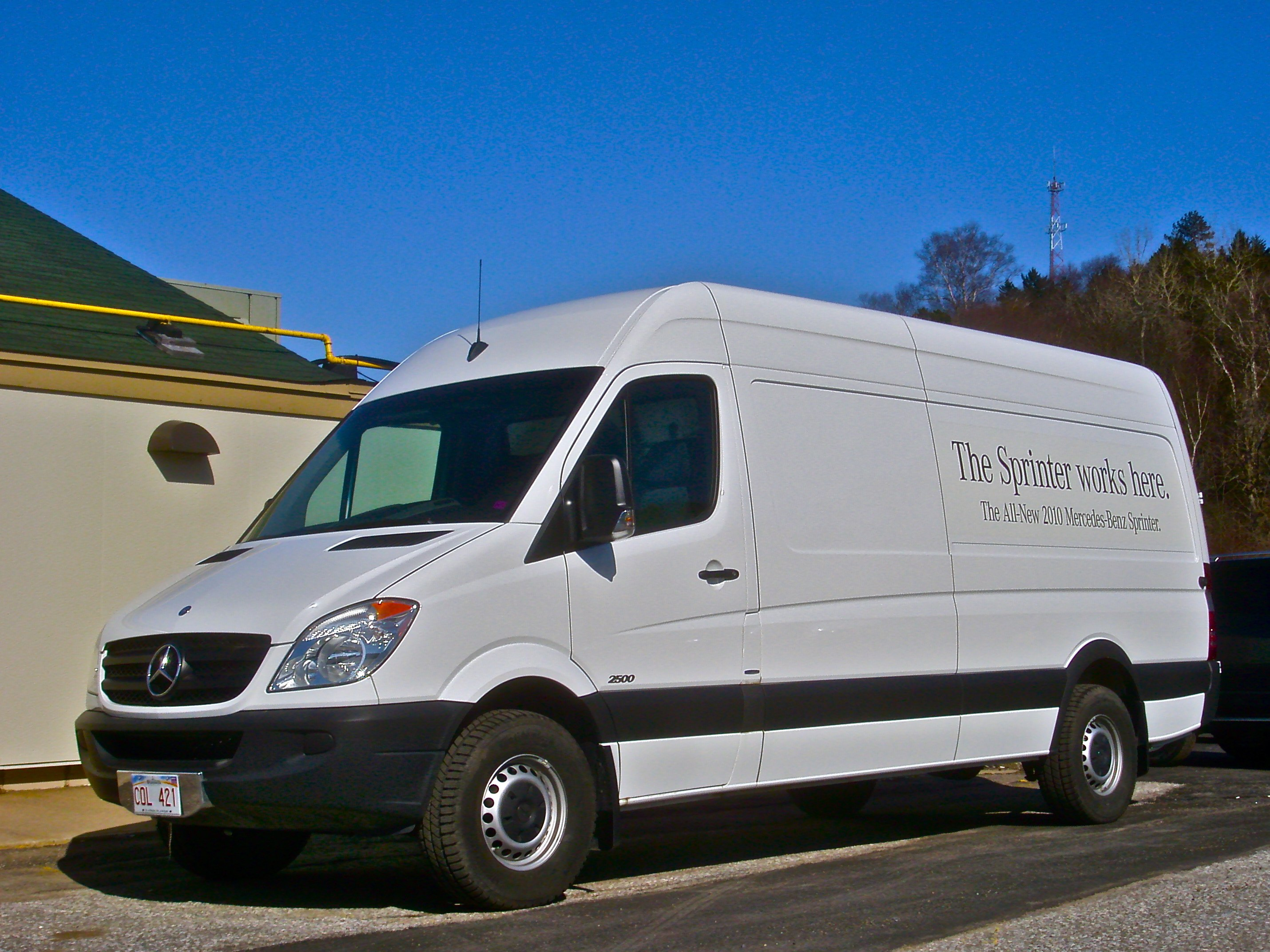 2010 Mercedes-Benz Sprinter #11