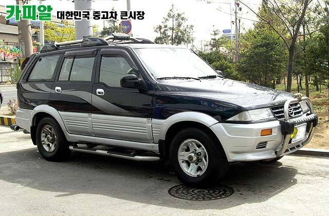 1996 Ssangyong Musso #3