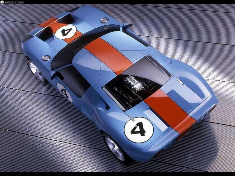 2002 Ford GT 40 #11