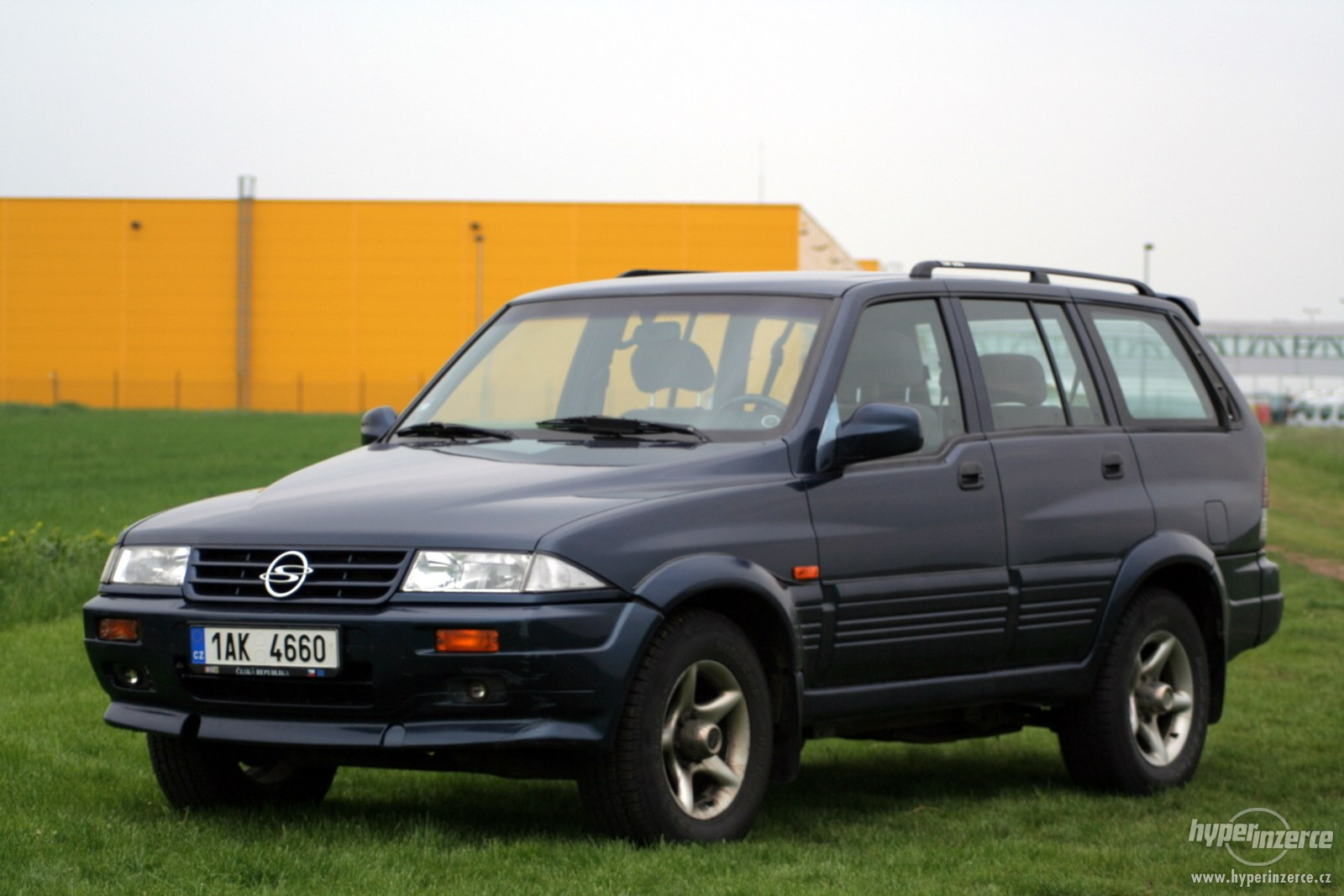 1999 Ssangyong Musso #10
