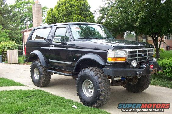 1995 Ford Bronco #15