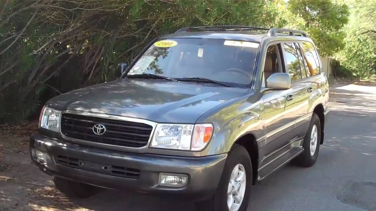 2000 Toyota Land Cruiser Photos Informations Articles 2001 1