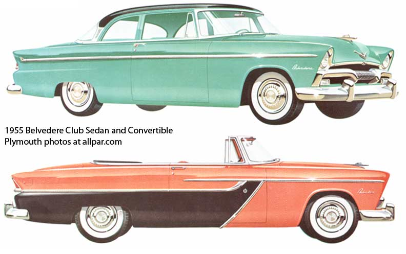 1955 Plymouth Belvedere #16