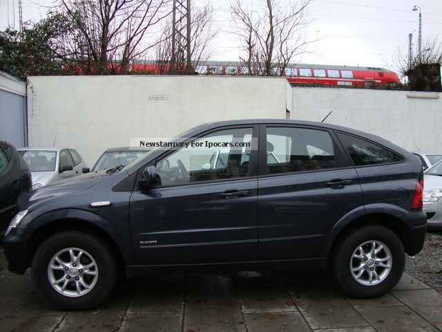 2008 Ssangyong Actyon #14