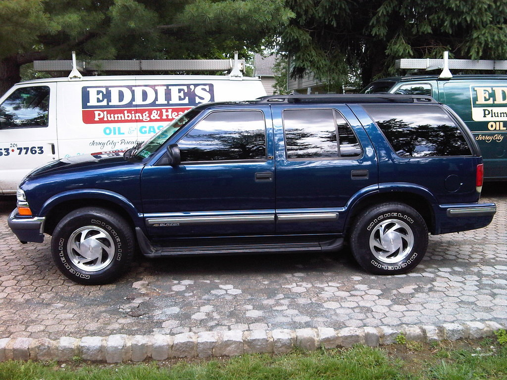 1998 chevy chevrolet blazer owners manual