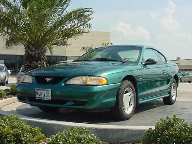 1996 Ford Mustang #9