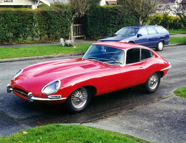1966 Jaguar E-Type #13