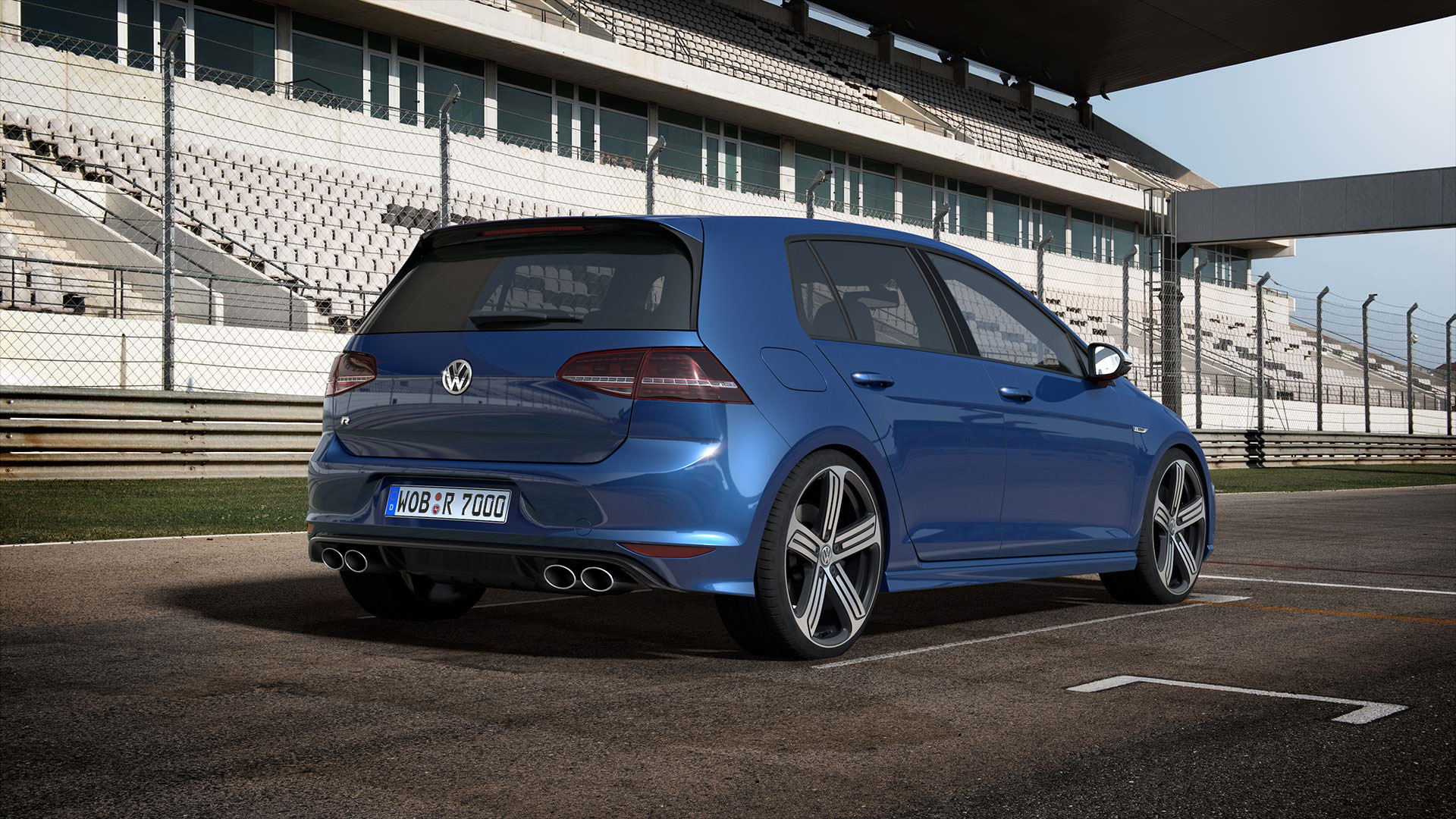 Volkswagen Golf R #16