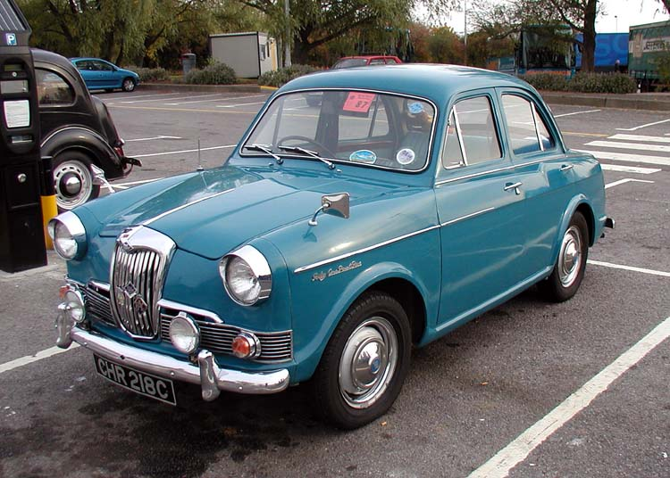 1961 Riley One-Point-Five #3