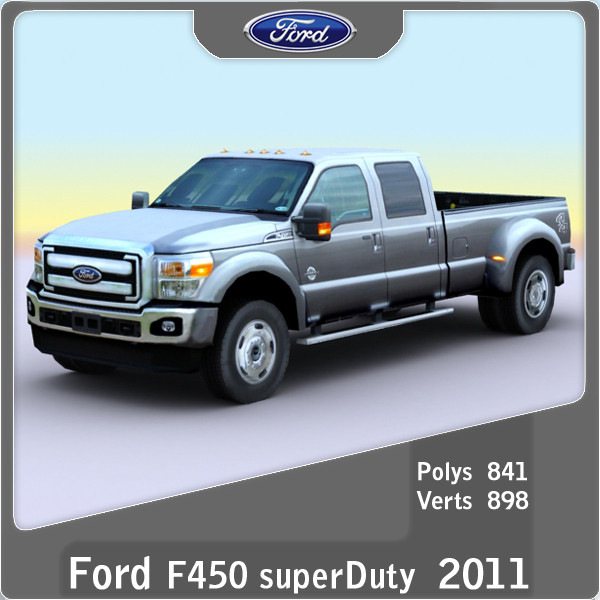 2011 Ford F-450 Super Duty #4