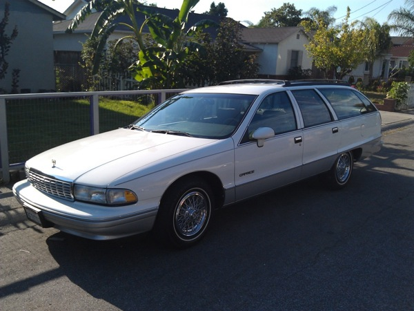 92 Chevy Caprice Wagon All About Chevrolet