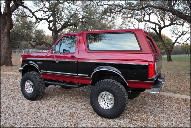 1995 Ford Bronco #13