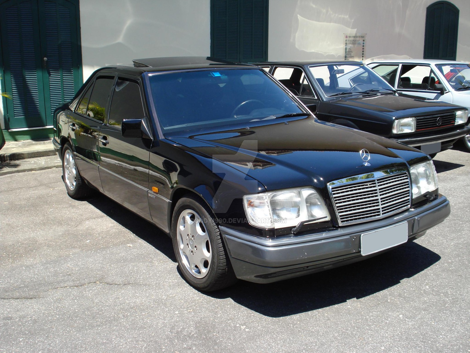 1995 mercedes benz e420 photos informations articles. Black Bedroom Furniture Sets. Home Design Ideas