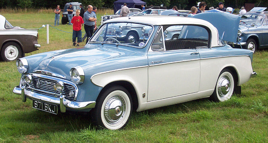 1957 Sunbeam Rapier #2