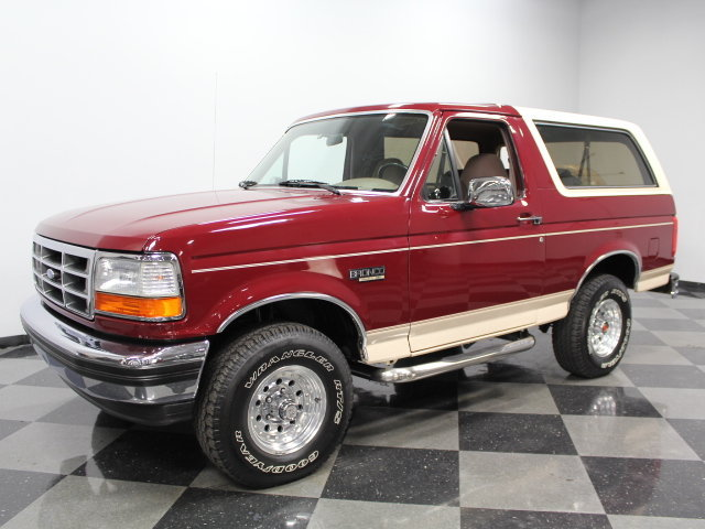 1993 Ford Bronco #6