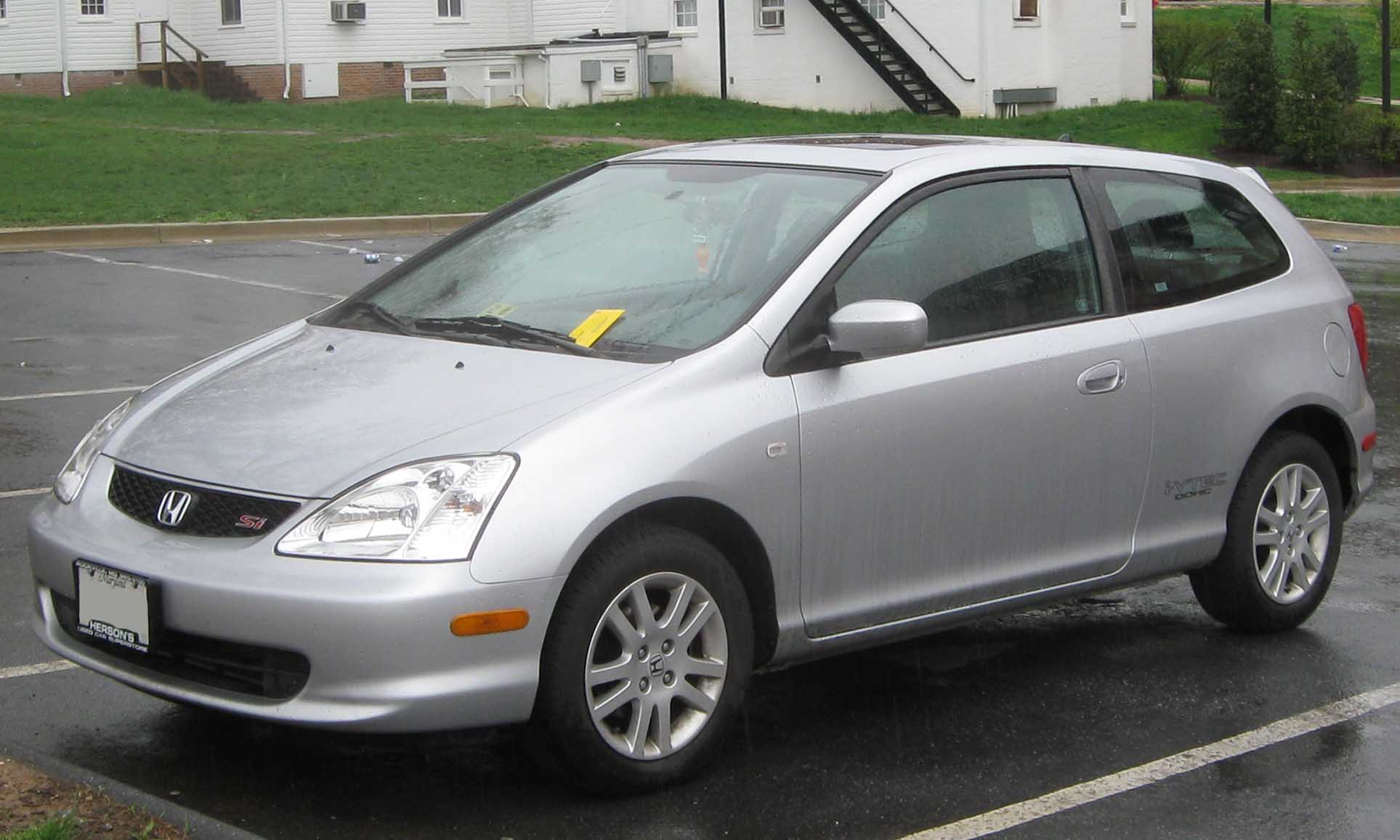 2001 Honda Civic #8