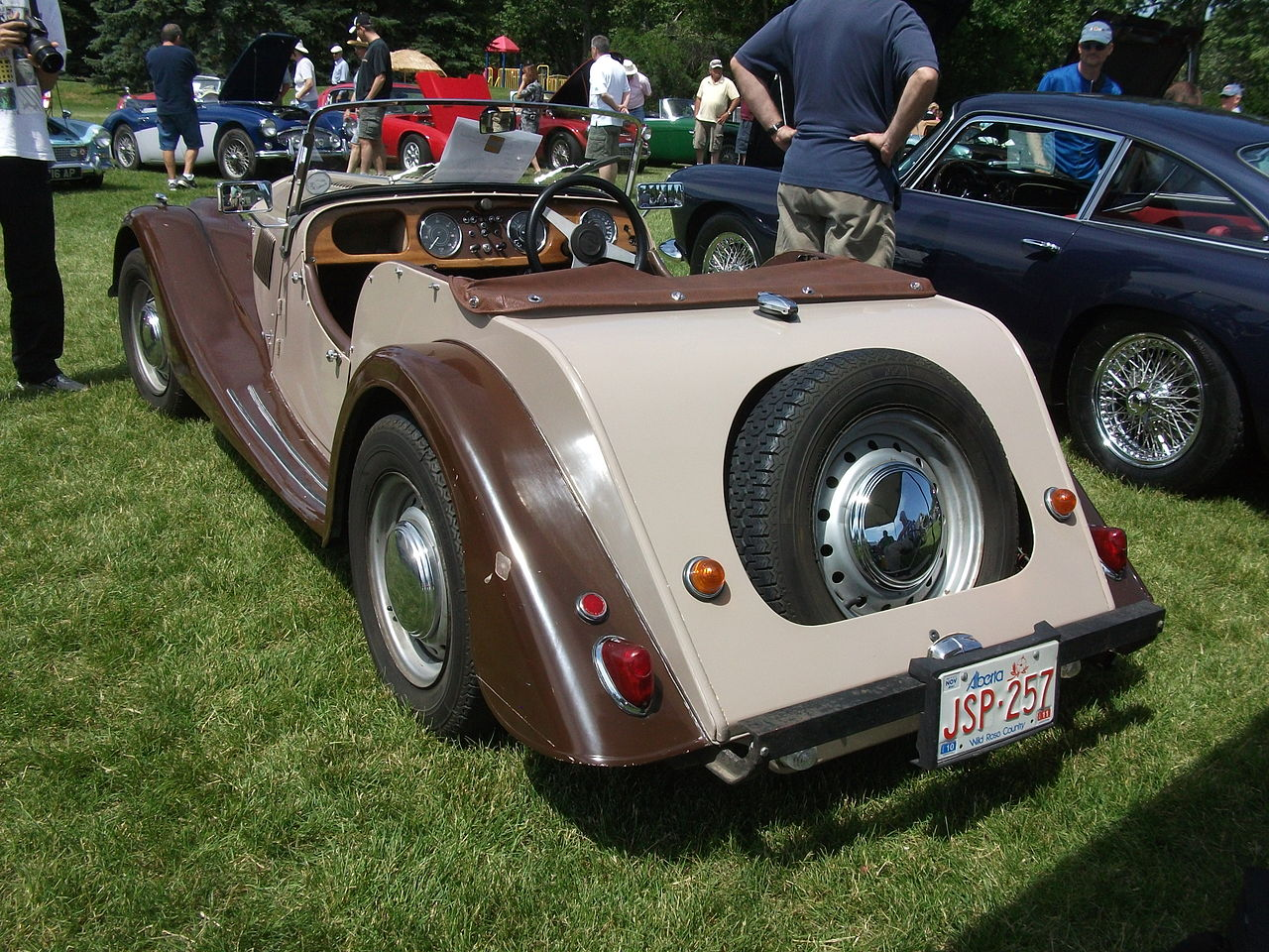1957 Morgan Plus 4 #9