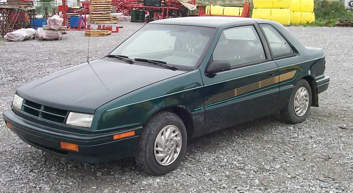 1993 Dodge Shadow #1