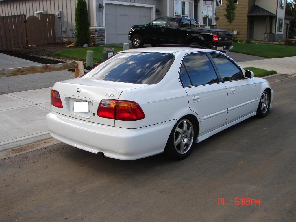 1999 Honda Civic #9