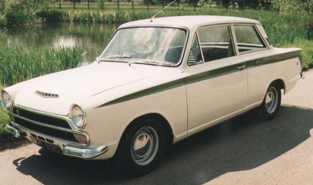 Ford Lotus Cortina #10