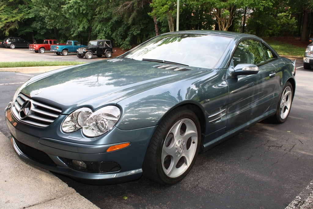 2005 Mercedes Benz SL #6