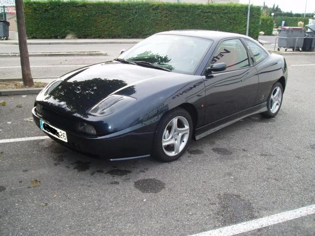 2000 Fiat Coupe #8