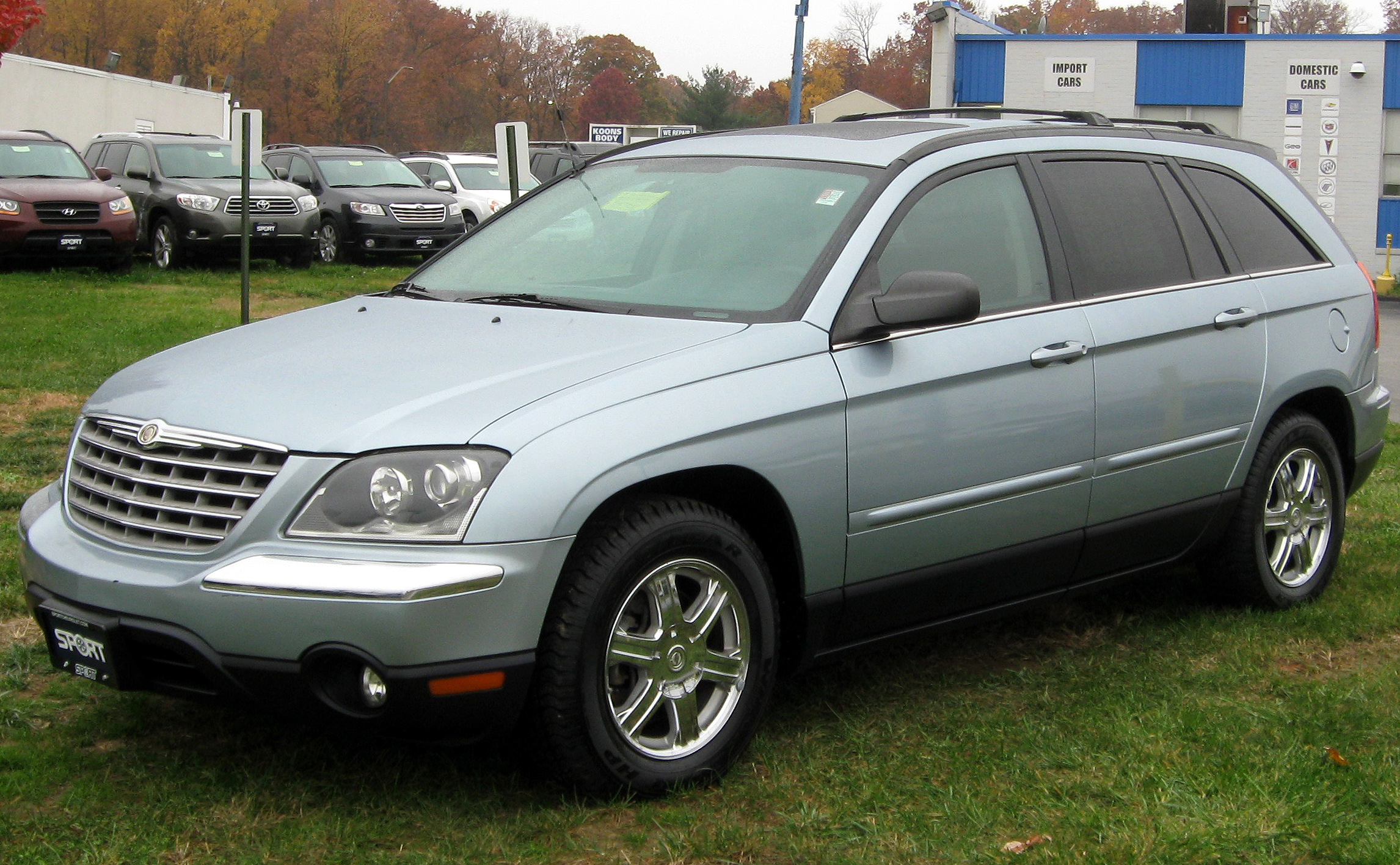 Chrysler Pacifica #9