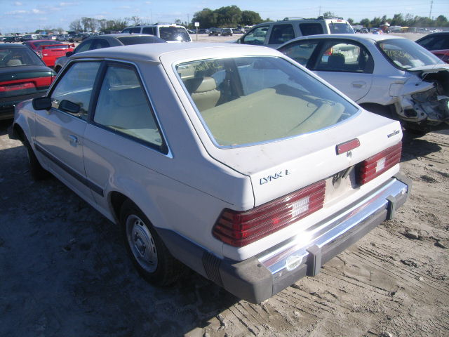 1986 Mercury Lynx Photos Informations Articles
