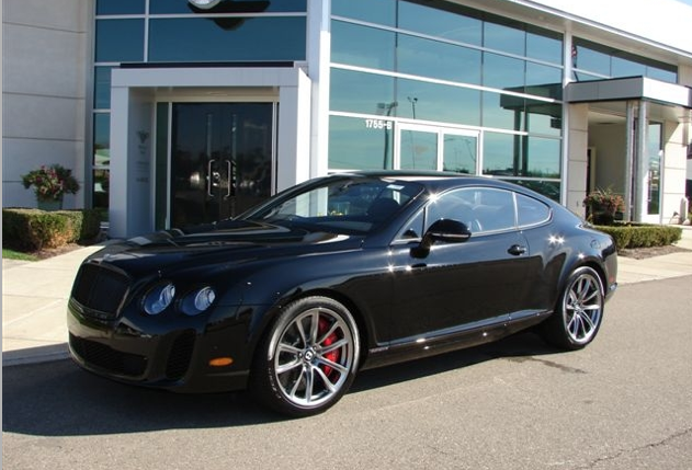 2012 Bentley Continental Supersports #11